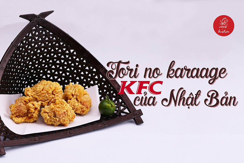 Tori karaage – KFC của Nhật Bản.
