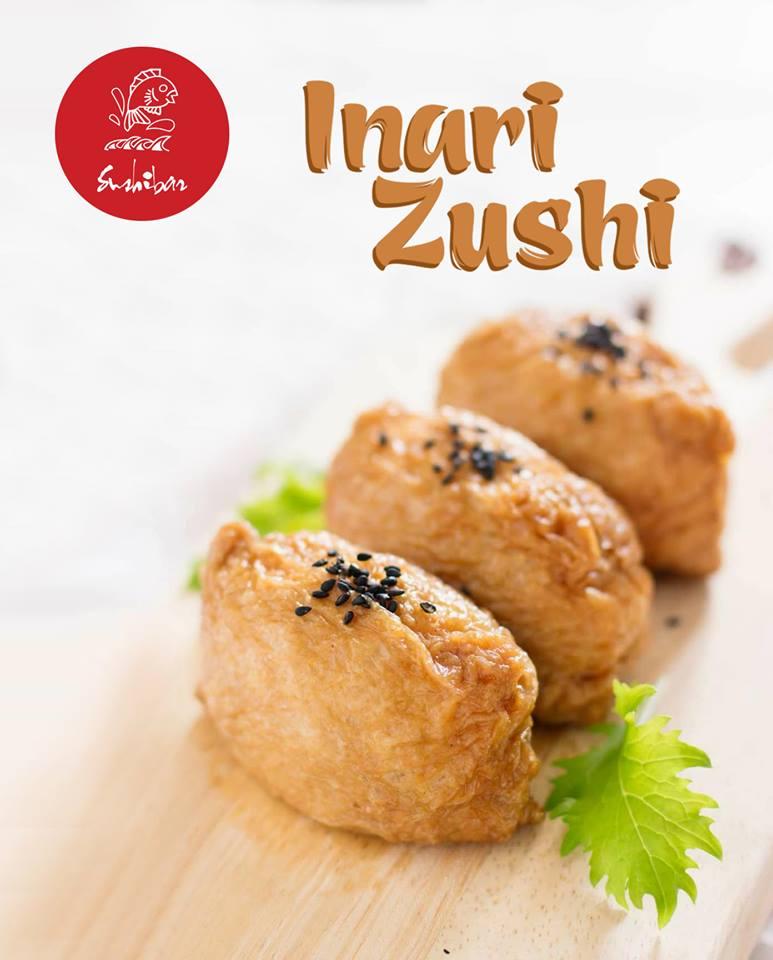 Inari Zushi - Sushi cuốn đậu hủ