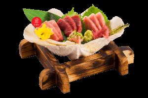 Mixed Japanese Tuna Sashimi