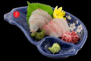 Shiromi sashimi (Kue /Madai )