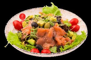 Sumoku salmon Salada