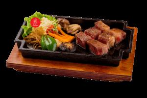 Wagyu steaki